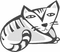Cat Coloring Pages Cartoon