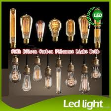 fashion incandescent vintage light bulb edison bulb fixture e27