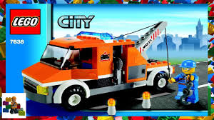 100 Lego City Tow Truck LEGO Instructions Traffic 7638 YouTube