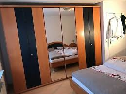 schlafzimmer set gebraucht bett nachttische kommode