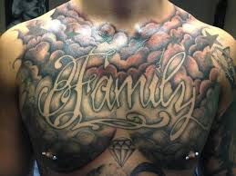 Cloud Tattoo Designs Chest Piece