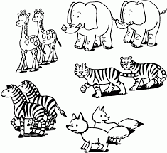 Zoo Animal Coloring Pages To Print Printouts For Noahs Ark Visit Coloringlab Com Printable Gallery