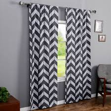 Gray Chevron Curtains Uk by Gray And White Chevron Curtains Best Curtain 2017