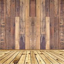 8x15FT Shabby Buff Wooden Pallet Wall Wood Floor Custom Photo Studio Backdrops Background Vinyl 240cm X 450cm In From Consumer Electronics On