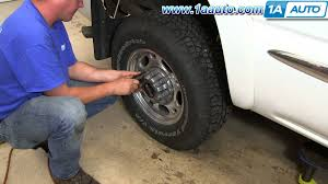 100 Chevy Truck Center Caps How To Install Hub GMC Sierra 2500 HD 1A Auto