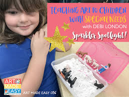 Teaching Art To Children With Special Needs AME 056