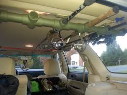 Ceiling Rod Rack For A SUV/Stationwagon - KayakTournaments.com Diy Suv Ceiling Rod Rack Fishing Holder For Bed Major League Sports Outdoor Recreation Kayakfishingwesternpa Tundra Fly Rod Holder Toyota Forum Tight Line Enterprises Magnetic Racks Vehicle Truck Just Made A Rack The Tacoma World Home Runner Portable Fishing Racks And Holders Bed Anodized Finish Pipe Dreams Marine Smith Creek In Car Rod Holder Flyfishingaccsories Tools Page 5 Ford F150 Community Of