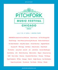 Pitchfork Festival 2016 Poster