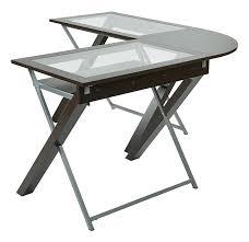 L Shaped Computer Desk by Amazon Com Osp Designs Xt25l X Text L Shaped Computer Desk With