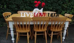 Reclaimed Farmhouse Pine Tables For Sale