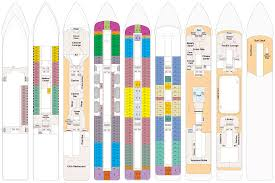 Carnival Splendor Deck Plans by Pacific Princess Deck Plans Cruiseind