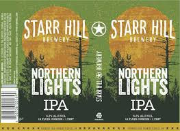 Starr Hill Brewery Reformulates Northern Lights IPA • thefullpint