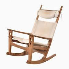 Jfk Rocking Chair Auction by Danish Keyhole Rocking Chair By Hans J Wegner For Getama 1960s
