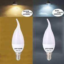 e14 b22 e27 led frosted bent tip candle light bulbs 3 5w