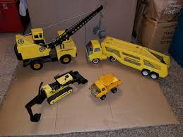 Vintage Metal Tonka Trucks. Old Mighty Tonka ... | WHITEFORD ...