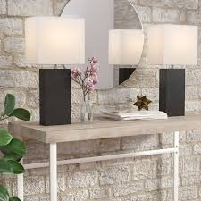 Wayfair Table Lamp Set by Ivy Bronx Indra 21