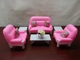 gloria barbie doll house furniture 94014 living room play set