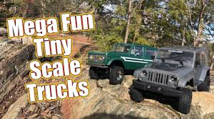 Big Fun Small Scale RC Trucks! - RC4WD 1/18 Gelande II BlackJack ... Rc Truck Model 114 Scale Kiwimill News Wl222 24g 112 Cross Country Car L222 Cheap 1 14 Rc Trucks Find Deals On Line Scale Military Trucks Heng Long 3853a Wpl B24 116 Snowy Rocks Rc Rctruck Jeep Wrangler Axial Axialracing Discover The Hobby Of Radiocontrolled Cars Trucks Drones And Adventures Slippery Hill Climb 4x4 Trailing Nitro Buggy Hsp Warhead 2 Speed 110 Race 10074 Mudding Scx10 Comanche 8 Suppliers Manufacturers Off Road Cars Update Gas 2018 All Met In