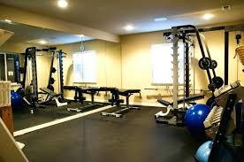 Basement Gym Ideas Home