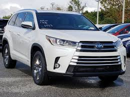 100 Truck Accessories Orlando New 2019 Toyota Highlander Hybrid Limited Platinum Sport Utility In