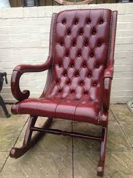 Chesterfield Leather Rocking Chair In B36 Birmingham For £295.00 For ... Style Selections Wood Rocking Chairs With Slat Seat At Lowescom Jack Post Oak Childrens Patio Rocker Norwegian Chair Chesspatterns 194050s By Per Aaslid Norway For Nursery Parc Rocking Chair 11468 S001 Rocking Chair Black S Bent Bros Antiques Board Outdoor Interiors Resin Wicker And Eucalyptus Brown Grey Seattle Mandaue Foam Song
