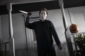 Halloween 1978 Michael Myers Face by Jamie Lee Curtis And Nick Castle Halloween 1978 Jamie Lee