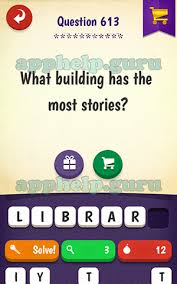 First Letter W Riddle What Building Has The Most Stories Answer