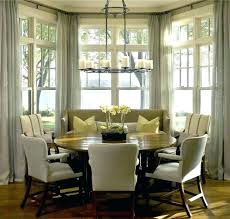 Curtains For Dining Room Windows Window Patterned Houzz