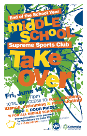 Middle Schoolers Can Celebrate Schools End With Party At Supreme Sports Club