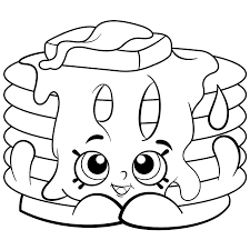 Cartoon Coloring Pages Free 14 Shopkins