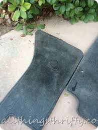 Bmw Floor Mats Canada by How To Clean Floor Mats In Your Car Easily All Things Thrifty