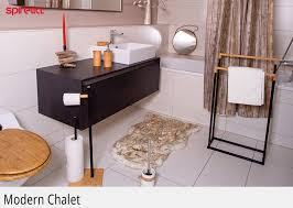 badezimmer accessoire badteppich duschvorhang spirella