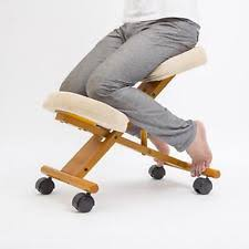 Swedish Kneeling Chair Amazon by Kneeling Chair Orthopaedic Posture Chair Ebay