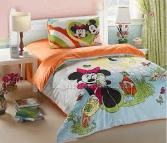 mickey mouse and minnie mouse twin velvet bedding kids bedding sets