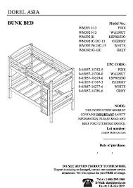 Kura Bed Instructions by Lovely Dorel Bunk Bed Assembly Instructions 65 In House Interiors