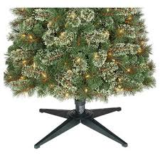 9ft Prelit Artificial Christmas Tree Slim Virginia Pine Clear Lights