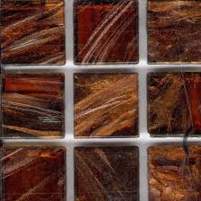 the heights brio tortoiseshell shimmer glass tiles are a great way