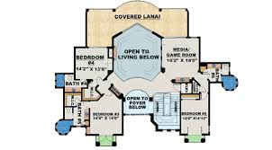 Stunning Images Story Open Floor Plans by Stunning Two Story Luxury Home Plan 66070we Architectural