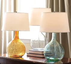 Fillable Table Lamp Base by Glass Base Table Lamps Australia With Fillable Lamp Pottery Barn