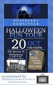 Halloween Activities In Nj by Roseberry Homestead Halloween Fun Tour Phillipsburg New Jersey