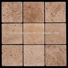China Classic Natural Stone Travertine Mosaic For Wall Paving Tile