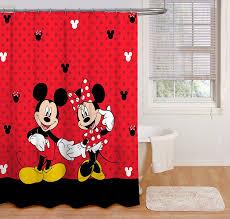 Vintage Mickey Bathroom Decor by Fabulous Mickey Mouse Shower Curtains Also Vintage Mickey Mouse