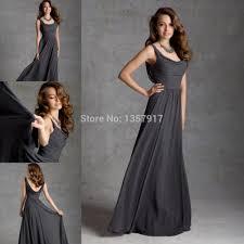 charcoal bridesmaid dresses long dress on sale