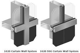 Kawneer Curtain Wall Doors by Aecinfo Com News Kawneer U00272s New 1620 1620 Ssg Curtain Wall System