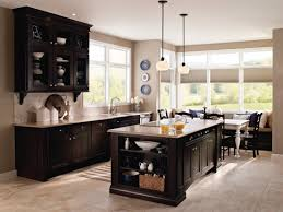 this beautiful kitchen was designed in the kemper echo cabinet