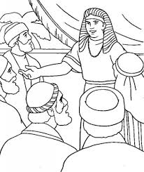 Joseph And His Brothers Coloring Pages Free Printable Intended For Forgives