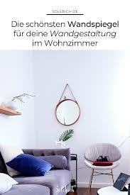 hochwertige designer spiegel wohnzimmer einrichten ideen