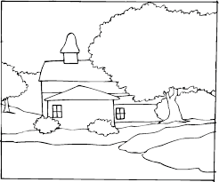 Downloads Online Coloring Page Landscape Pages 74 On Print With