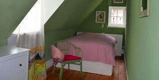 schlafzimmer grün ferienwohnung kühlungsborn