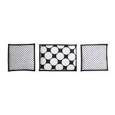 Bacati Crib Bedding by Bacati Dots Pin Stripes Black White 10 Pc Crib Set Including